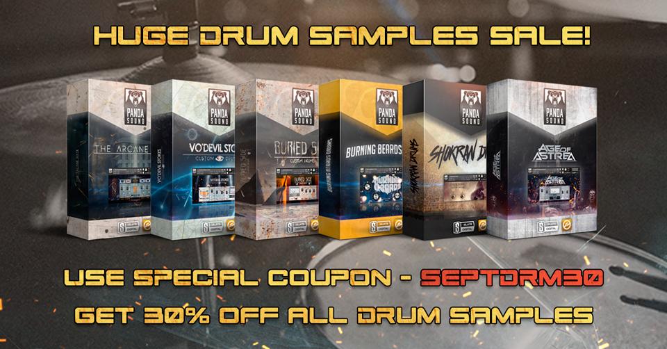 Drums Samples Sale