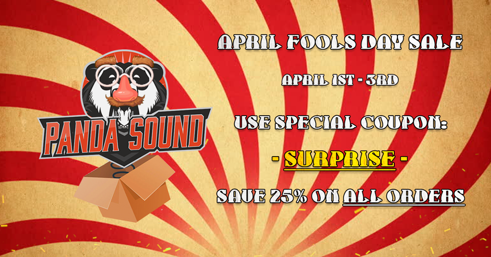 April Fools Day sale